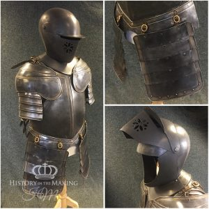 !6th Century Cuirassier (heavy cavalry) Half suit of Armour. Resin cast and GRP.