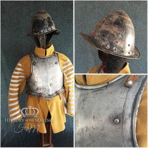 English Pikeman's Armour-1642.