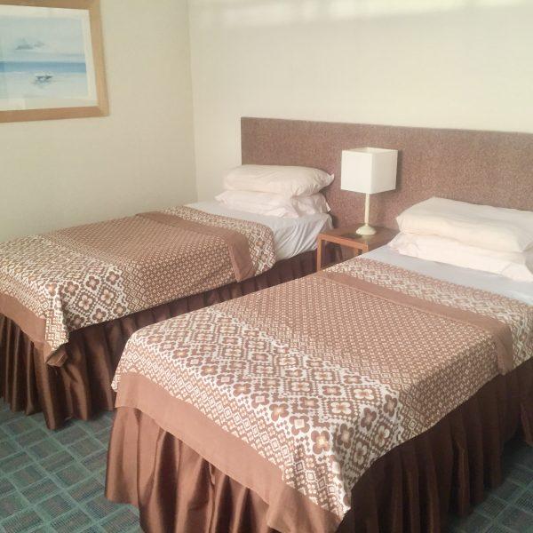 Hotel Bedroom film set
