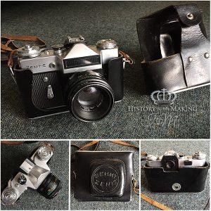 Zenit 35mm SLR Camera - 1970