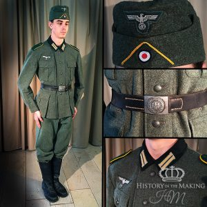 Basic german Army Uniform- 1936 pattern-Private Soldier-Reconnasaince Company.