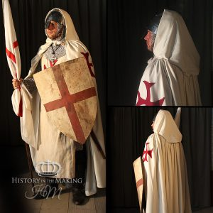 1147–1149 The Second Crusade - English Templar Knight.