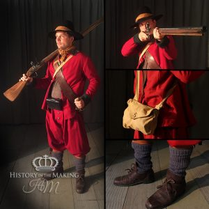 1645-1660-New Model Army-Dog Lock Musket Soldier