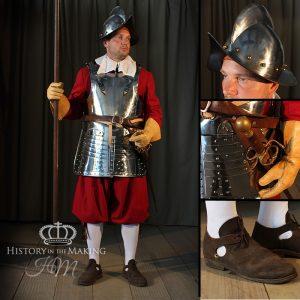 1642-1651 Royalist Pike Regiment costume
