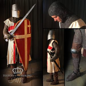 1189-1192 The Third Crusade-Templar Knight-String Mail