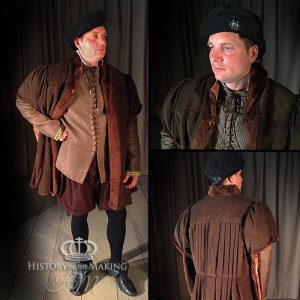 15th Century-Gentleman's day clothes-Brown