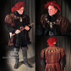 15th Century High Status costume- Hunting dress