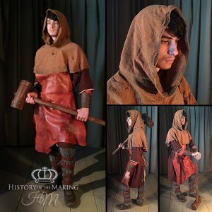 Medieval Male Artisan Costume-The Mason