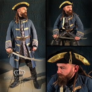 1730-Prate Captain with Cutlass
