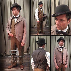 1880- Brown Derby Suit