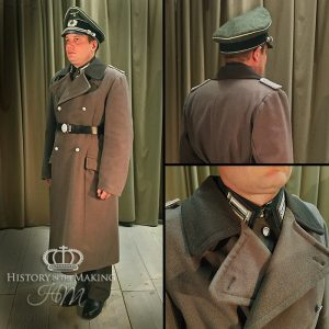 1939- German Army Officer- Greatcoat