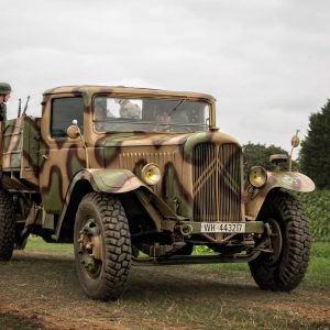 WW2 Trucks and Lorries