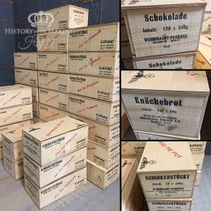 WW2 German Ration Crates- reproduction- full size
