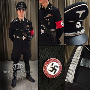 1938- SS Officers Uniform- Untersturmführer