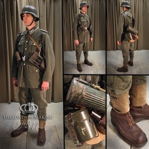 1940-German Infantry-NCO-Converted Swedish Uniform