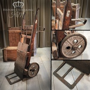 Antique Factory Sack Truck