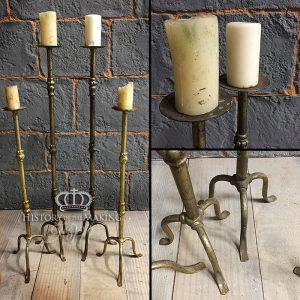 Floor standing- church candle sticks