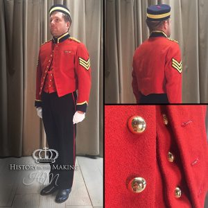 Victorian Cavalry Sgt in Mess Dress.