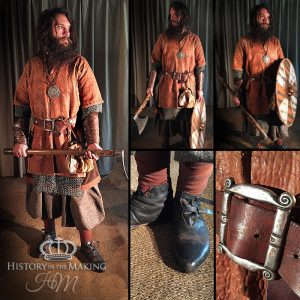 Viking Warrior (790-1066) Axe man- Leather over mail armour