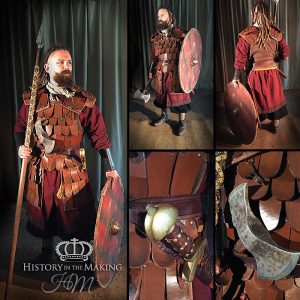 ng Warrior (790-1066) Leather scale armour- twin headed axe