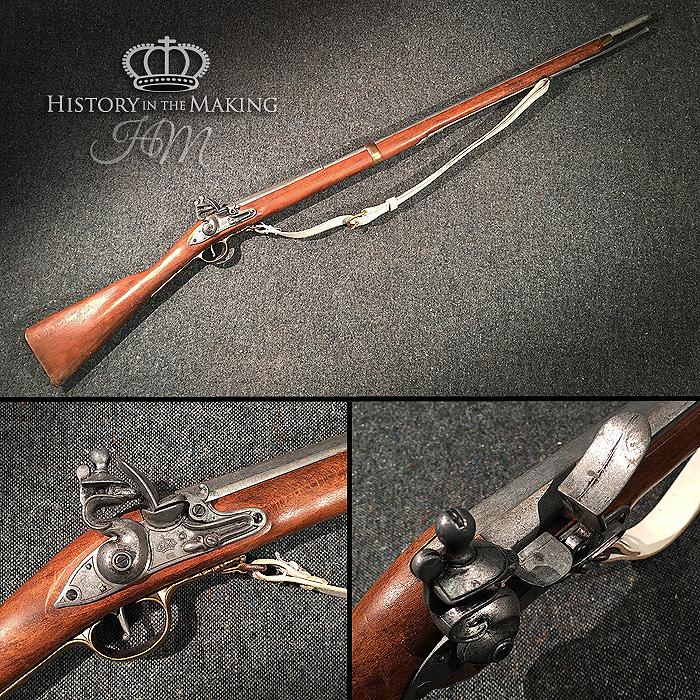 English Brown Bess Musket- Replica - History in the Making