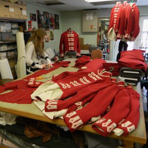 Costume manufacture for Waterloo- feature