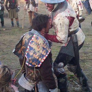 Agincourt- TV-On Set Armourer-Sword master