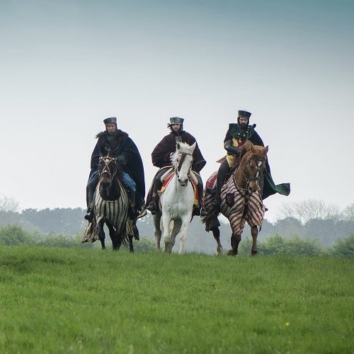 English King Riding Costume- Magna Carta- TV