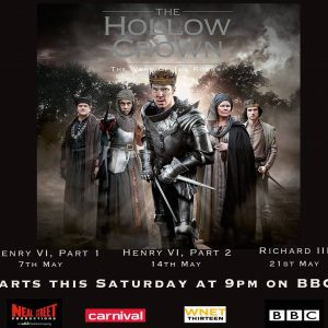 Hollow Crown- TV- On set Armourers