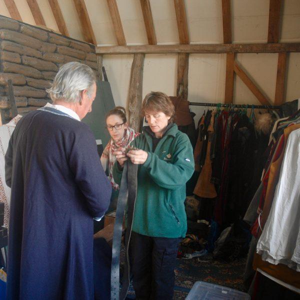 Costume designer- Magna Carta Unlocked- Dressing Room